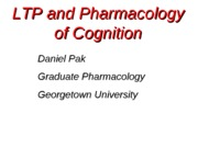 GRAD PHARM 2014-02-19 LTP and cognition blackboard