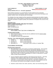 Fall08 TXA 316Q Syllabus