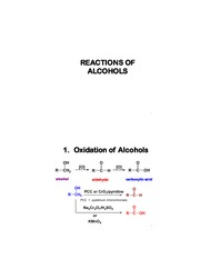 REACTIONS OF ALCOHOLS(3)-Stdnt Copy [Compatibility Mode]