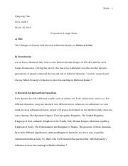 Proposal for Longer Essay --Qingsong Tian.docx