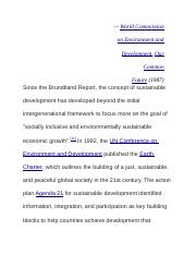 World Commission on Environment and Development.docx