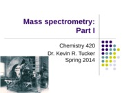 Unit 2 - Mass Spectrometry