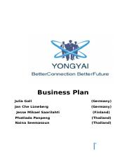 Business Plan in Thai - Competition.docx
