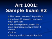 1001 Review_Test #2 Ch 8 to 14 A