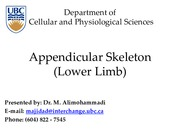 (05) Appendicular Skeleton (Lower Limb)0