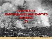 Chapter 11 Earthquakes Revised June 2010