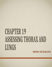 Chapter 19 Assessing Thorax and Lungs.pptx