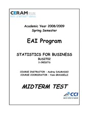 Midterm_1_Spring_2009_Statistics_for_business