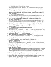 Memory Review Quiz Q and A.docx