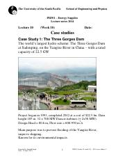 PH301-lecture 10 (week 10)- 2014 (case studies)