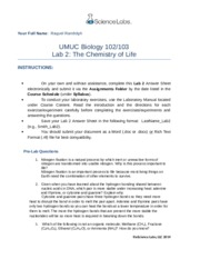 lab 4 enzymes umuc Your full name: umuc biology 102/103 lab 4: enzymes instructions: on your own and without assistance, complete this lab 4 answer sheet electronically and submit it via the assignments folder.