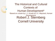 Historical and Cultural Factors in Development(3)(1)
