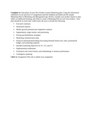 mkt 571 week 6 investor pitch View test prep - mkt 571 week 6 quiz from mkt 571 at university of phoenix 1 1 which of the following is true regarding a marketing audit it focuses on a firms macromarketing environment it.