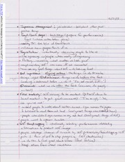 Notes on Impression Management