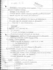Narration and rhetoric Notes