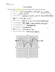 Math 31 Final Review - Curve Sketch (1).doc