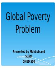 Presentation- Global Poverty-Final.ppt