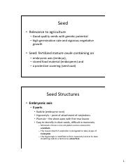 AES 121 Intro duction to Seed-types-tests