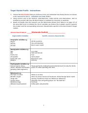 Target Market Profile Template1.docx