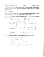 exam 2 fall 2006 solutions