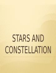 STARS AND CONSTELLATION