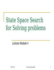 L4 State Space Search.ppt.ppt