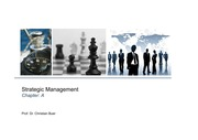Strategic Management Part A - Fundamentals of strategic management