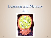 1-5_Learning and Memory 2