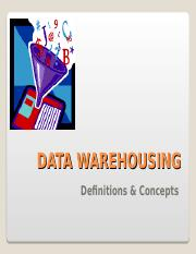 Data Warehousing _11_MIS.ppt