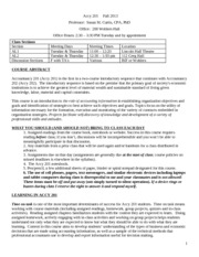 2 Fall 2013 Accy 201 Course Policies-2