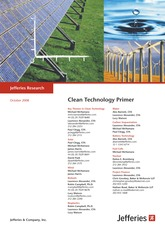 Clean Tech Industry Primer - Jefferies (2008)