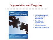 Principles - Ch3 - Segmentation and Targeting