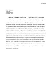 Field Experience B.docx