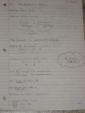 Distributive Property Notes