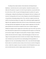 family reflection paper