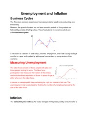 economics coursework unemployment Economics is the one of the few economic arts degrees which involves the study  of  by examinations, through coursework assignments or through project reports   add weak social skills, weak writing skills, and ~10% unemployment in.