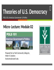 Theories of Demoacracy Lecture PPT.pptx
