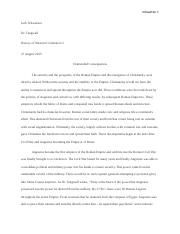 History of Western Civilization Essay 4 with Works Cited.docx