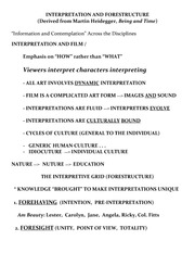 L3 Interpretation and Forestructure JAN 27