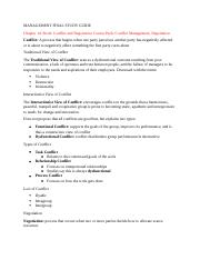 MANAGEMENT FINAL STUDY GUIDE- Chapter 14.docx