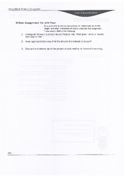 Written Assignement Unit  4 - BAM 313 - Financial Management