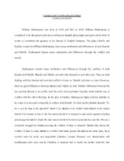 Hamlet research paper