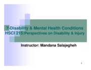 7-Disability & MentalHealthConditions
