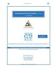 Accounting & Financial Analysis Assignment