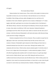 AP English Language and Composition Scarlet Letter Essay
