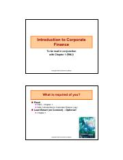 2015-Class 1 - Introduction to Corporate Finance(1).pdf