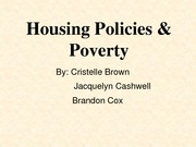 Housing Policies and Poverty Presentation
