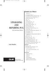 Upgrading And Repairing PCs, 15th Edition (2004)