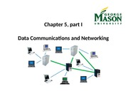 Data Communications and Networking, Part I
