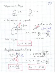 PHYS 1118 Fall 2010 Revolutions Lecture Notes